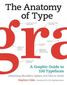 Baixar The Anatomy of Type: A Graphic Guide to 100 Typefaces pdf, epub, eBook
